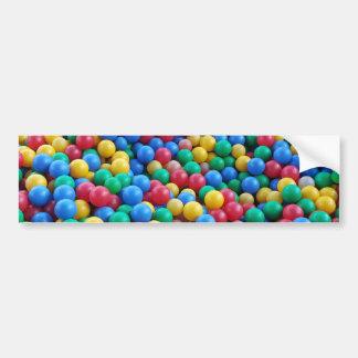Autocollant De Voiture Jeu coloré d'enfants de boules de mine de boule