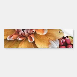 Autocollant De Voiture Jolies fleurs de dahlia