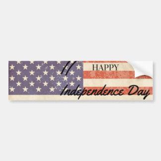 Autocollant De Voiture Jour de la Déclaration d'Indépendance - 4ème