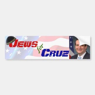Autocollant De Voiture Juifs pour l'adhésif pour pare-chocs de Ted Cruz