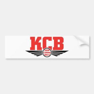 Autocollant De Voiture KCB - Gardez les marchandises de retour de