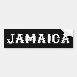 Autocollant De Voiture La Jamaïque