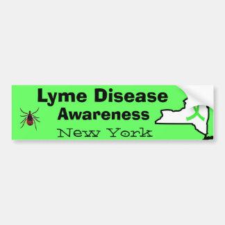 Autocollant De Voiture La maladie de Lyme dans l'adhésif pour pare-chocs