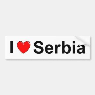 Autocollant De Voiture La Serbie