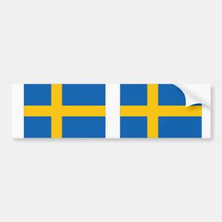 Autocollant De Voiture La Suède