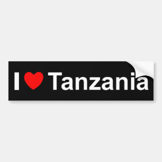Autocollant De Voiture La Tanzanie