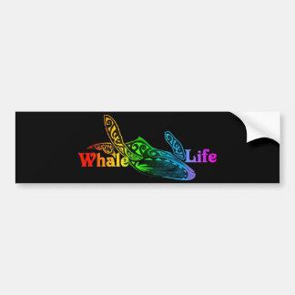 Autocollant De Voiture La vie de baleine