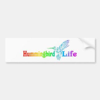 Autocollant De Voiture La vie de colibri