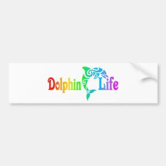 Autocollant De Voiture La vie de dauphin