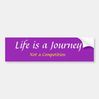 Autocollant De Voiture La vie est un voyage