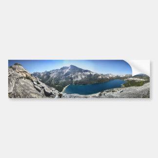 Autocollant De Voiture Lac Tenaya de dôme de Polly - Yosemite