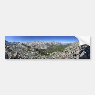 Autocollant De Voiture Lac/vallée evolution de banc de Darwin - sierra