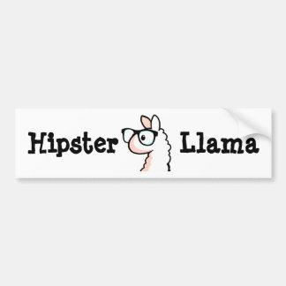 Autocollant De Voiture Lama de hippie