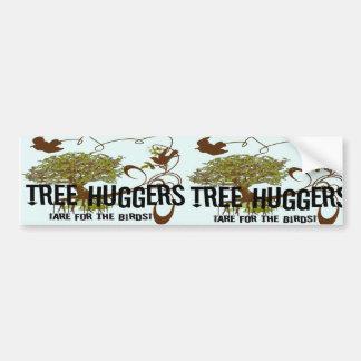 Autocollant De Voiture L'arbre Huggers sont pour les oiseaux