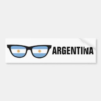 Autocollant De Voiture L'Argentine ombrage le bumpersticker fait sur