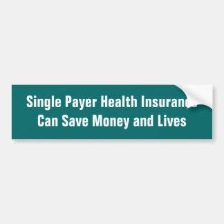 Autocollant De Voiture L'assurance maladie simple de débiteur peut