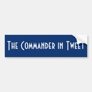 Autocollant De Voiture Le commandant In Tweet