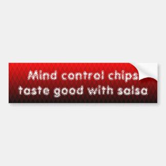 Autocollant De Voiture Le contrôle d'esprit ébrèche le goût bon avec le