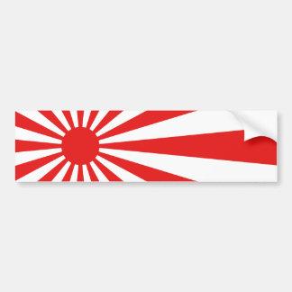 Autocollant De Voiture Le drapeau de Soleil Levant