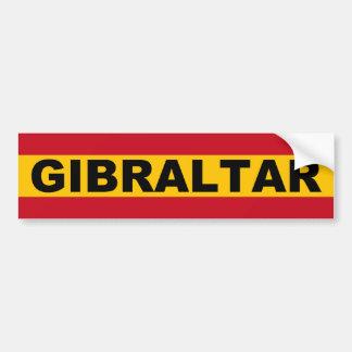 Autocollant De Voiture Le Gibraltar Espanol