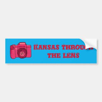 Autocollant De Voiture Le Kansas par l'adhésif pour pare-chocs de
