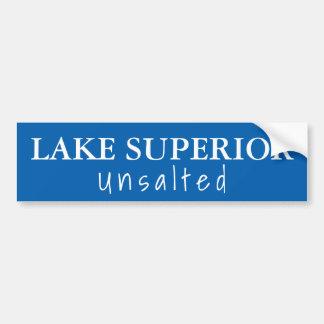 Autocollant De Voiture Le lac Supérieur - non salé