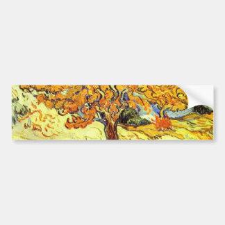 Autocollant De Voiture Le mûrier, Vincent van Gogh. Art vintage