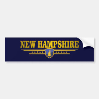 Autocollant De Voiture Le New Hampshire (DTOM)