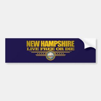 Autocollant De Voiture Le New Hampshire (PS)