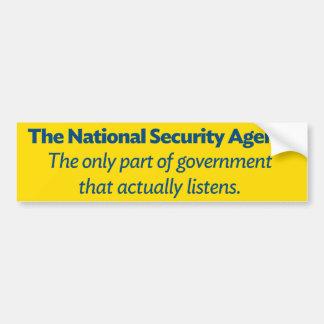 Autocollant De Voiture Le NSA