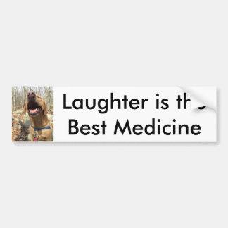 Autocollant De Voiture Le rire est la meilleure médecine