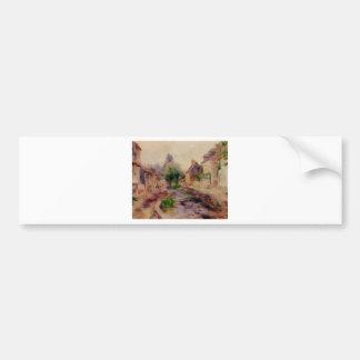 Autocollant De Voiture Le village par Pierre-Auguste Renoir
