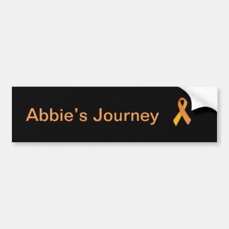 Autocollant De Voiture Le voyage d'Abbie