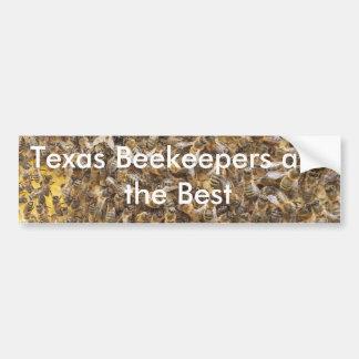Autocollant De Voiture Les apiculteurs du Texas sont le meilleur