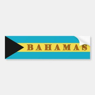 Autocollant De Voiture Les Bahamas