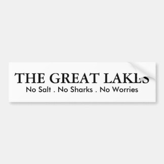 Autocollant De Voiture Les Great Lakes