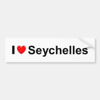 Autocollant De Voiture Les Seychelles
