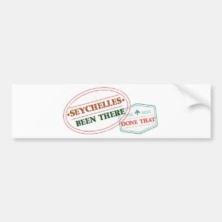Autocollant De Voiture Les Seychelles là fait cela