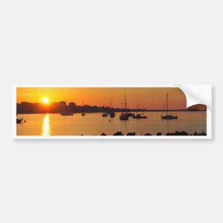 Autocollant De Voiture Lever de soleil de baie