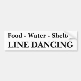 Autocollant De Voiture Ligne adhésif pour pare-chocs de danse