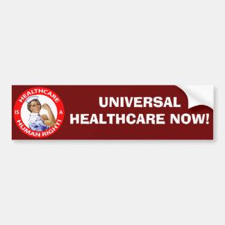 """Autocollant De Voiture L'infirmière """"Rosie"""" dit que les """"soins de santé"""