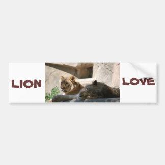 Autocollant De Voiture Lions africains