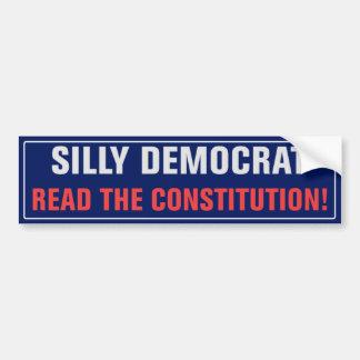 Autocollant De Voiture Lisez l'adhésif pour pare-chocs de constitution