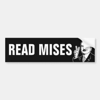 Autocollant De Voiture Lisez Mises