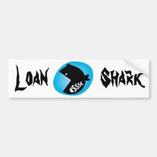 Autocollant De Voiture Loan shark