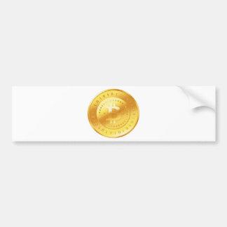 Autocollant De Voiture Logo de Bitcoin