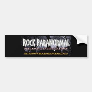 Autocollant De Voiture Logo paranormal 2 de roche