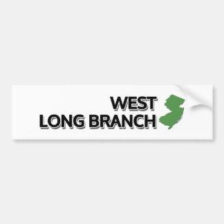 Autocollant De Voiture Longue branche occidentale, New Jersey