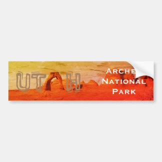 Autocollant De Voiture L'UTAH, parc national de voûtes