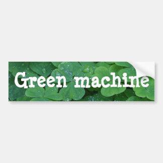 Autocollant De Voiture Machine verte